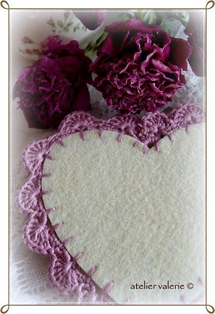 Hartvormige Onderzetters - Atelier Valerie ♥