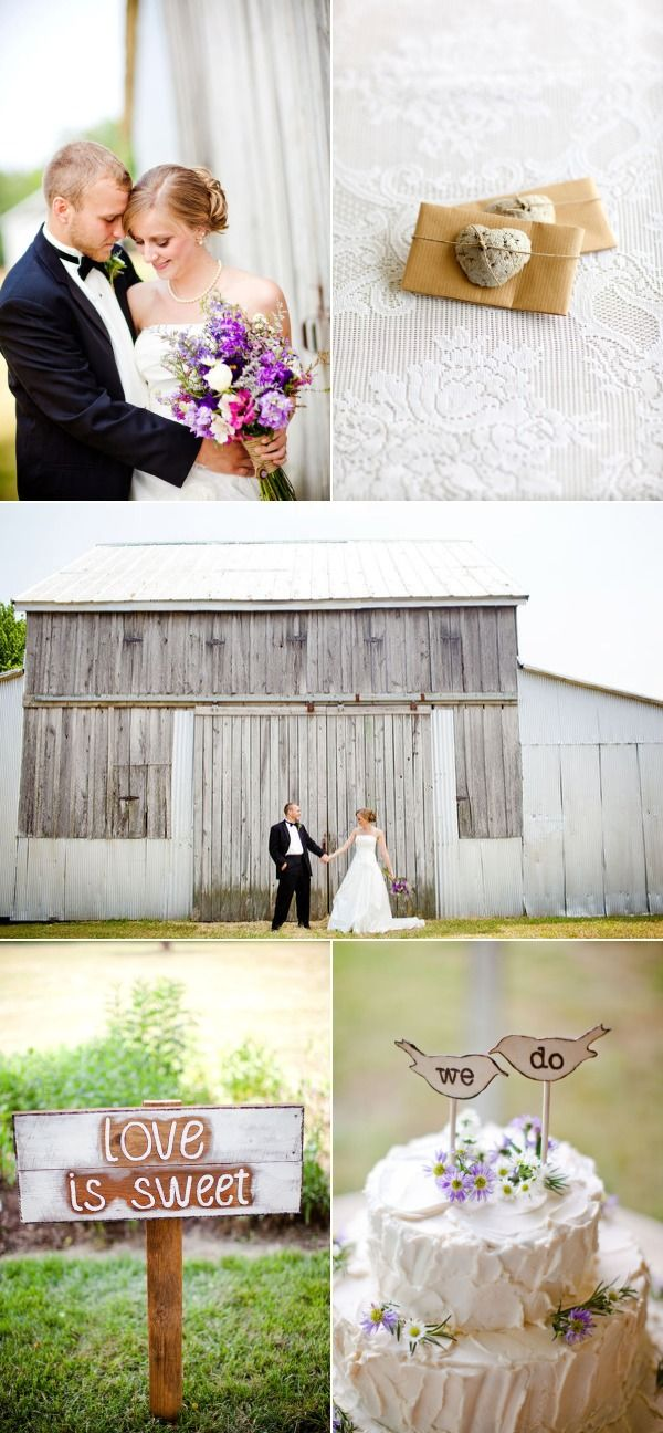 Backyard Virginia Wedding by Katelyn James Photography | The Wedding Story