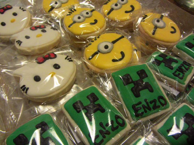 #Cookies #Minion #kitty #MineCraft #TaitEventos