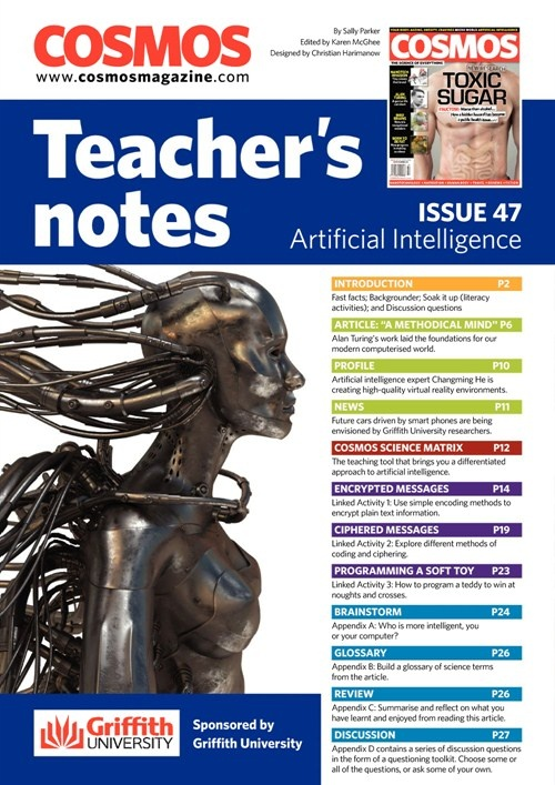 Teachers Notes INT : Issue 47,  Artificial Intelligence