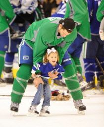 Testosterone and the daddy effect on professional athletes; Vancouver Canucks hockey players weigh in
