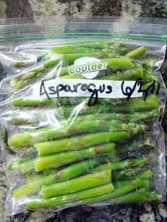 Krista's Kitchen: How to Freeze Asparagus