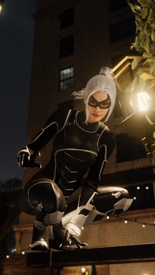 Black Cat Wallpaper Spidermanps4 In 2021 Spiderman Black Cat Black Cat Marvel Black Cat Marvel Spiderman