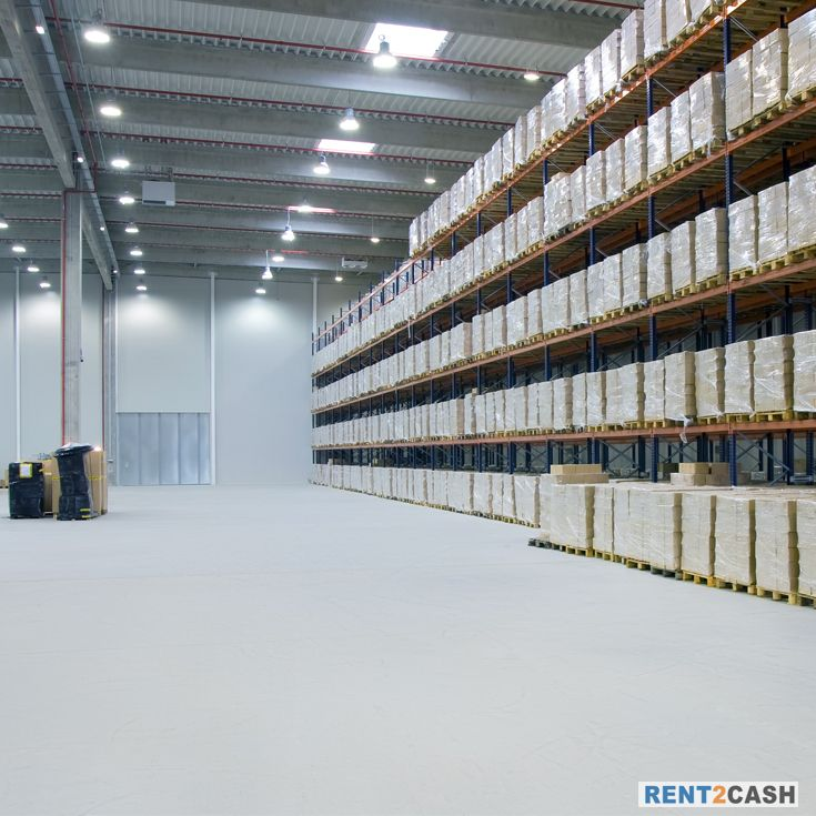 Looking for a place to store your end products and want to dispatch it later.Visit Rent2cash and get the best warehouse on rent quickly.