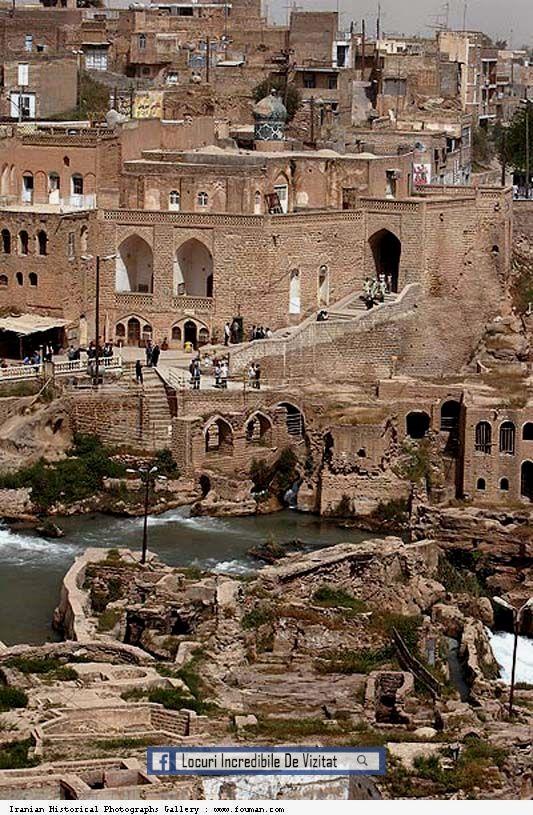 Shushtar Istoric hidraulic | Istoria Shushtar Iran - patrimoniul mondial UNESCO