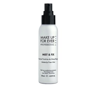 Mist & fix turns any make up into a practically waterproof make up. A must for hot days and long outings and special occasions. For truely waterproof make up try Make up Forever's line of water proof cosmetics. Otherwise this is an awesome substitute and must have!