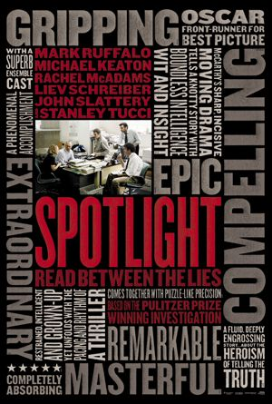 #Spotlight is an Oscar front-runner for Best Picture. Opening in cinemas January 28.