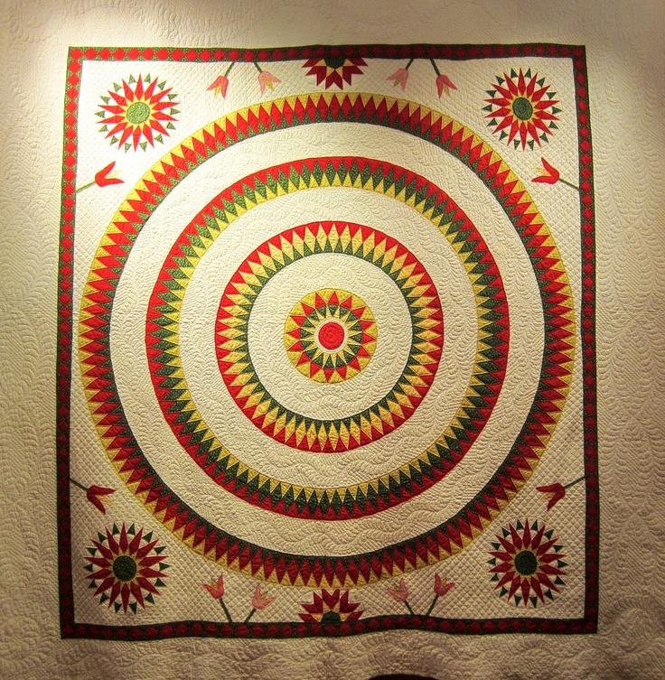 74 best Antique Mariner's Compass/Sunburst Quilts images on ... : rocky mountain quilt museum - Adamdwight.com