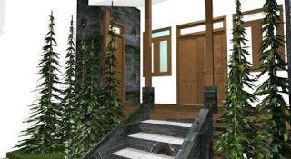 Desain Rumah Mr. Z Arifien