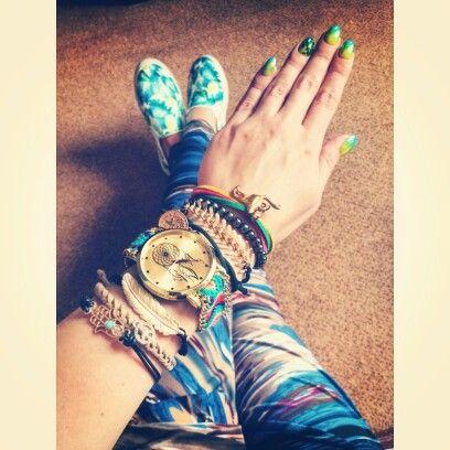 Bracelets, watch dream catcher  https://instagram.com/holla_jazzy/