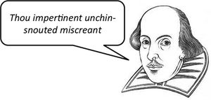 In this lesson, students will create a Shakespearean Insult Generator using lists in Python.