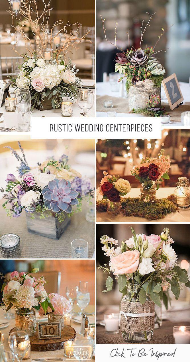 42 Rustic Wedding Centerpieces Fancy Ideas
