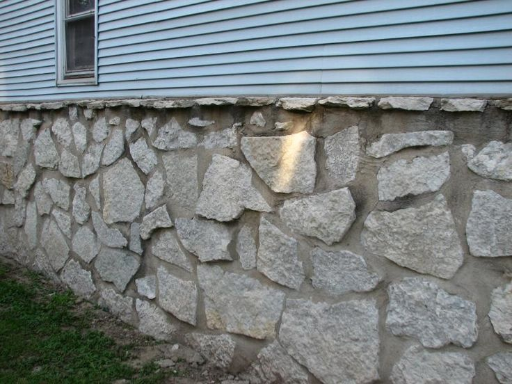 How To Repair Stone Foundation Walls Addition Exterior