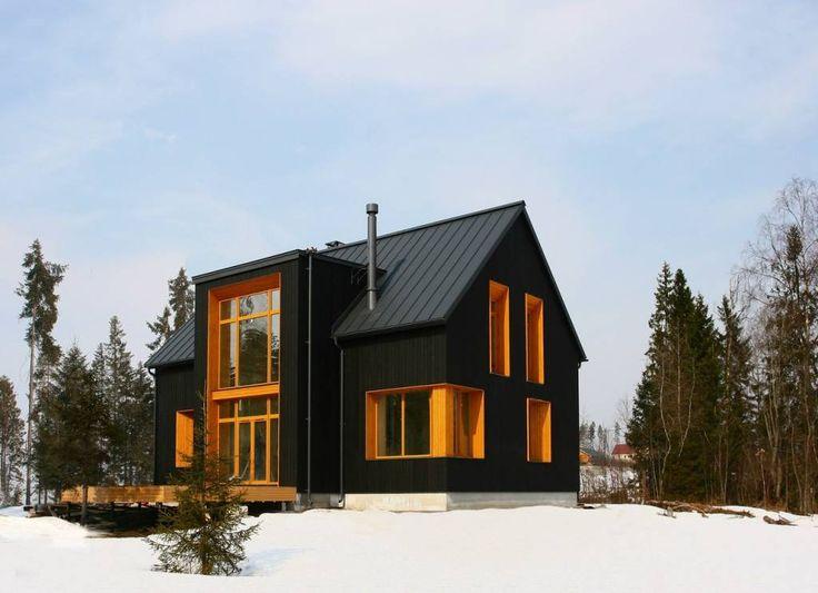 Черный Дом (От Snegiri Architects)