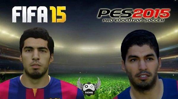 Chodzą słuchy że gra FIFA ma lepszą grafikę od PESa • Porównaj Luisa Suareza z obu popularnych gier futbolowych • Zobacz zdjęcie >>