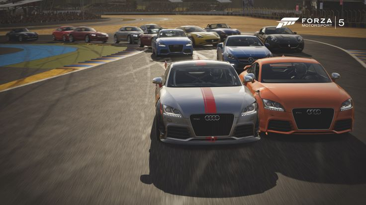 Audi TT RS Coupe from Forza 5 by Homway John