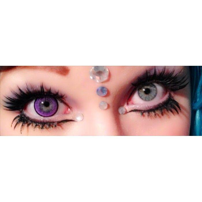 8f128acd2b3 Stunning   Exotic Violet circle lenses  Dolly Eye blyhteye violet ...