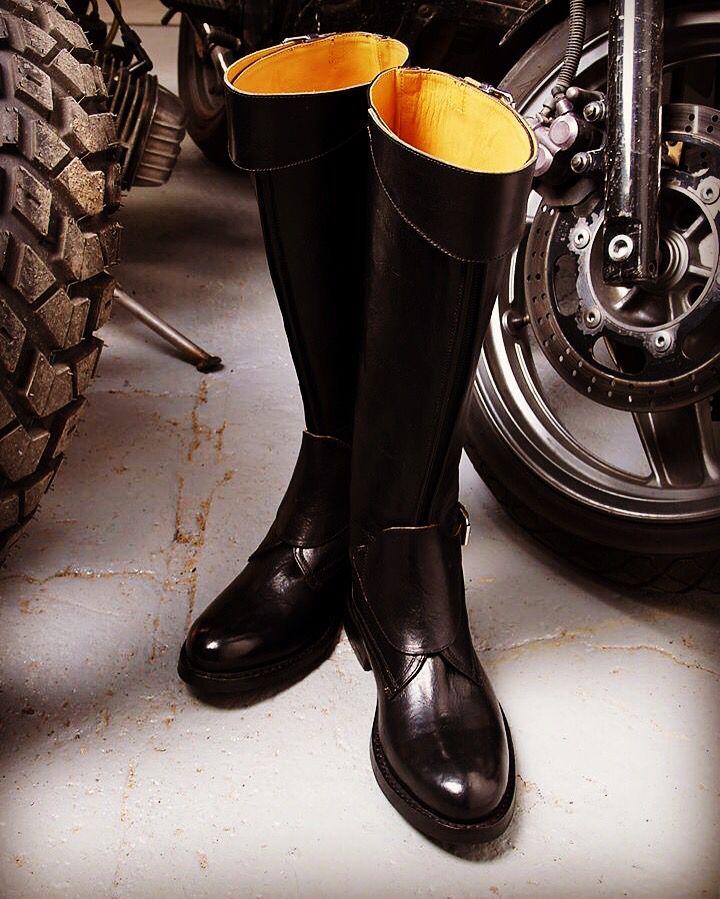 Cavalcatore moto and polo boots