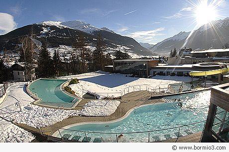 Bormio, thermal baths (Italy)