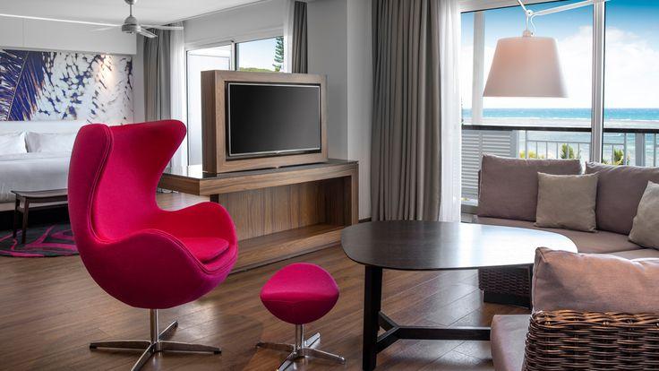 Le Méridien Nouméa - Resort Suite - Hotel design by CHADA. More pictures on our website.