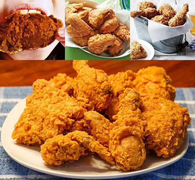 طريقة بروستد الدجاج Food Broasted Chicken Good Food