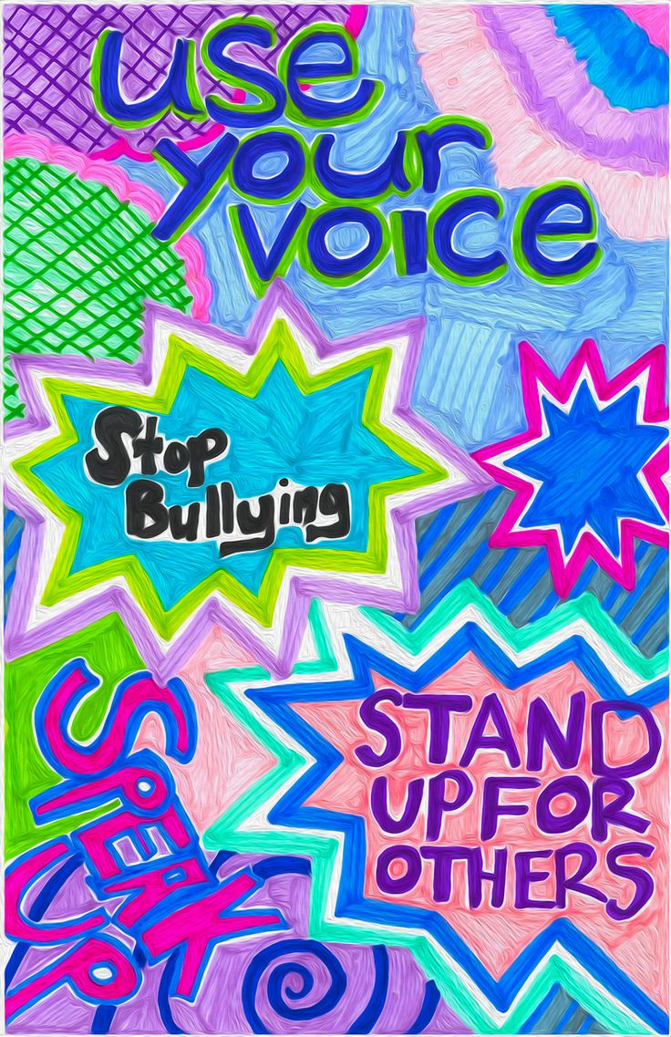 Anti-Bullying poster | Prevention | Pinterest | Poster and ...