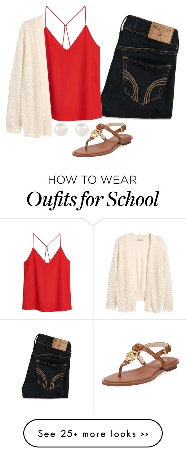 """School"" by haileydorman on Polyvore"