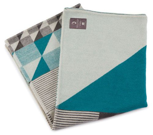 Funkle Design is a Norwegian design team that creates a playful collection of pillows, blankets, and linens.