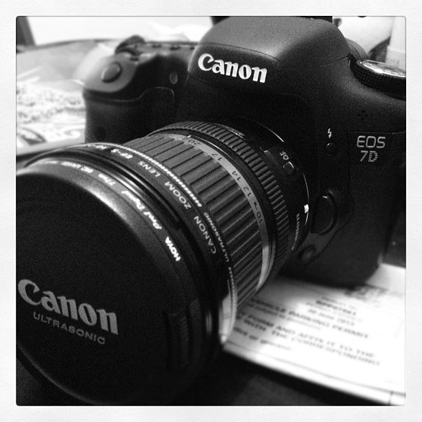 we love our Canon 7D