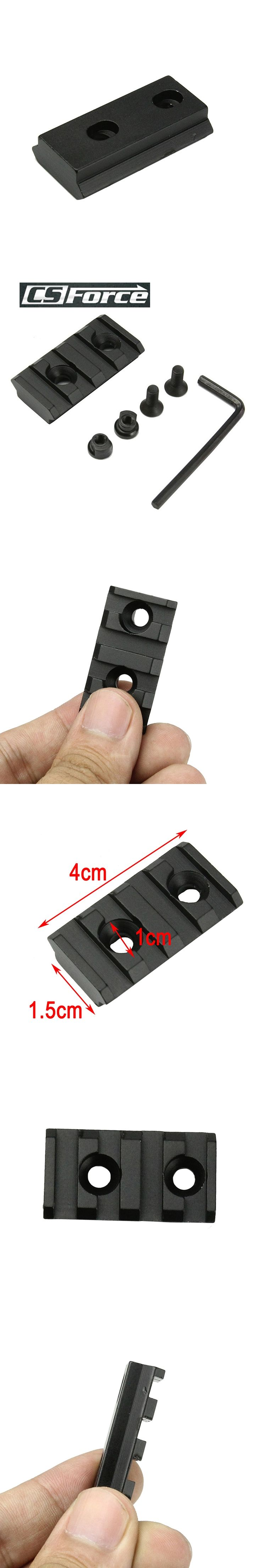 Tactical Aluminium Alloy 4 Slots Quick Release QD 15mm Rail Base Picatinny Scope Weaver Rail Mount Airsoft Rifle Gun Scope Base