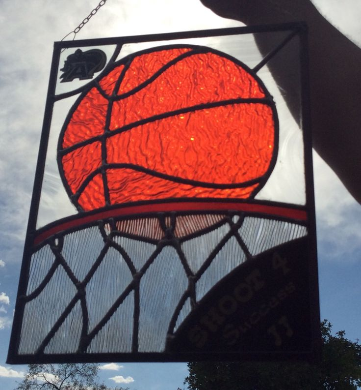 17 Best Images About Stained Glass Sports Basketball