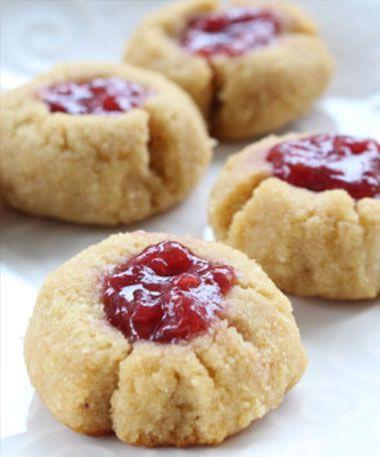 Gluten-free Raspberry Jam Cookies from Joy McCarthy