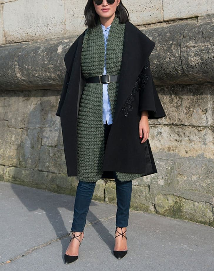 The+Right+Scarf+to+Wear+with+Every+Outfit+++via+@PureWow