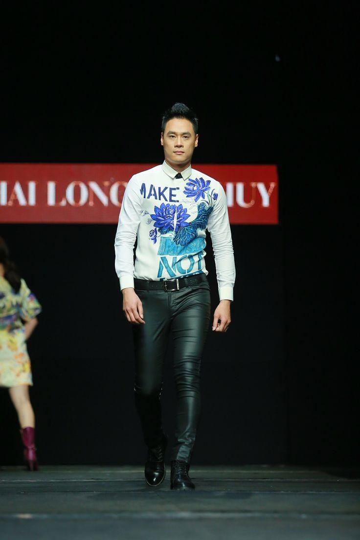 Vietnam Fashion Week FW15 - Ready to wear. Designer: Hai Long - The Huy. Photo: Thanh Dat