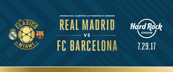 How to Watch Real Madrid vs Barcelona El Clasico Miami 2017 Free Live