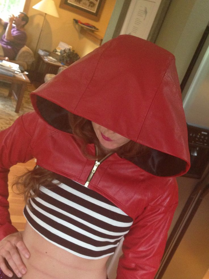 naughty red riding hood