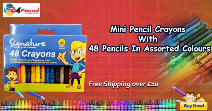 Order Stationery Product Crayons 48 Only at #4pound store.Get 50% Off