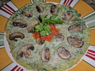 Chef JD's Breakfast Cuisine: Frittata di Spinaci e Portobello