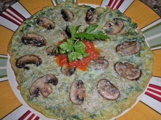 Chef JD's Breakfast Cuisine: Frittata di Spinaci e Portobello