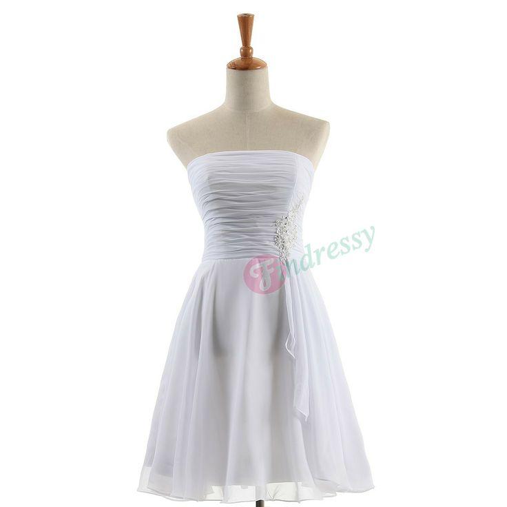 62 best Short Bridesmaid Dresses images on Pinterest   Wedding party ...