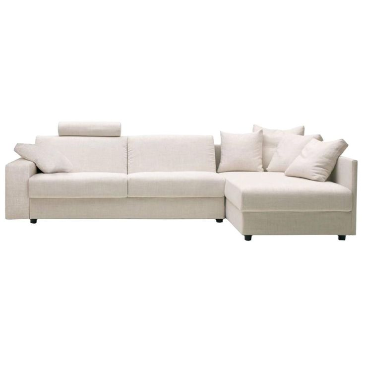 Modern Italian Sofa Bed Sectional SB41, Fabric, New, Made in Italy