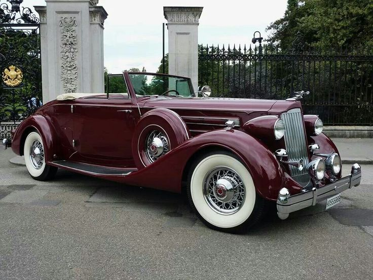 1936 Packard 12 Roadster