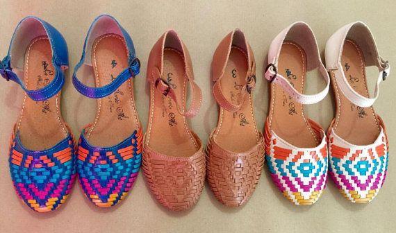 Natural Spring 2016 - Mexican Huaraches - Huaraches Mexicanos - Shoes - Vintage - Leather - Calzado - Zapato