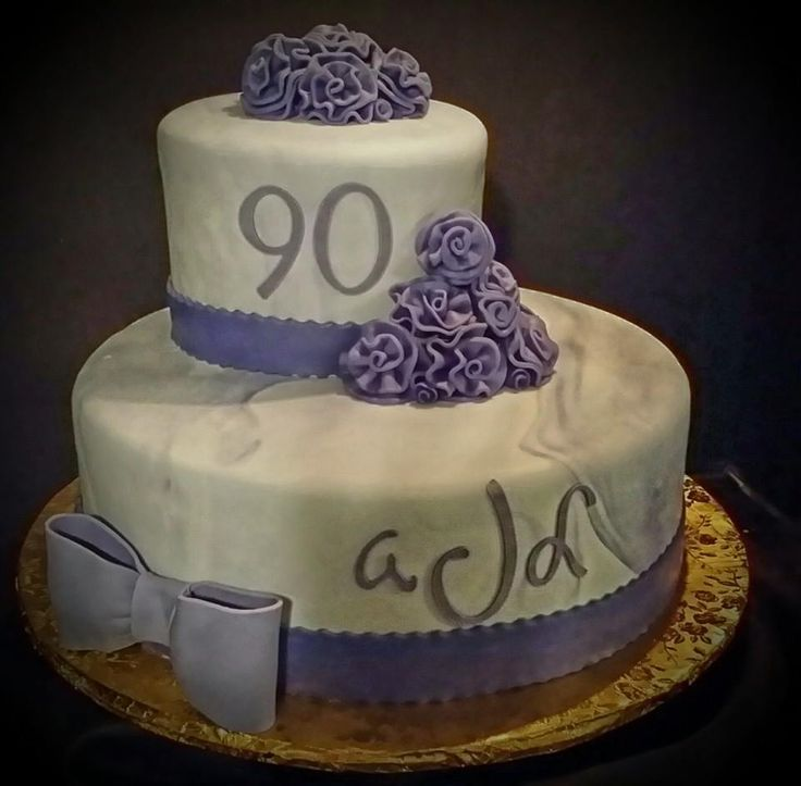 90 th Birthday cake