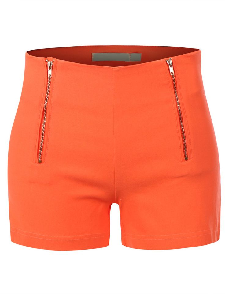 LE3NO Womens Lightweight High Waisted Nautical Sailor Shorts - might be cute for summer
