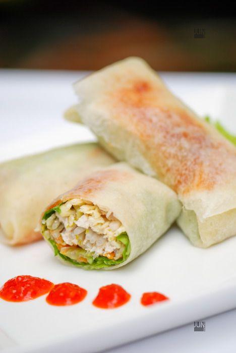 chinese fresh spring rolls popiah
