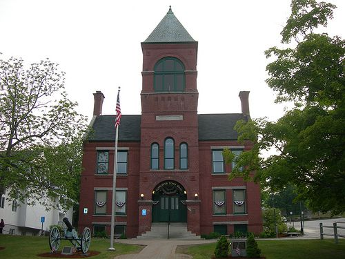 Alton Town Hall - Alton, NH - At Alton Town Hall, a ghost of a rugged outdoorsman is one of the many haunts believed to be in residence.