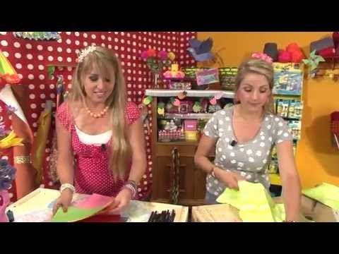 KnutselTV - knutselen voor het strand - YouTube