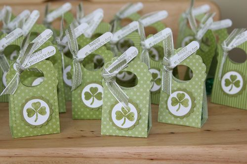 St Patricks two tags goodies by MadeMarian - Cards and Paper Crafts at Splitcoaststampers