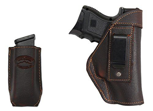 I just used this last weekend  New Barsony Brown Leather IWB Holster + Magazine Pouch for Compact, Sub Compact 9mm 40 45 follow this link click here http://bridgerguide.com/new-barsony-brown-leather-iwb-holster-magazine-pouch-for-compact-sub-compact-9mm-40-45/ for much more detail about it. Thanks and please repin if you like it. :)